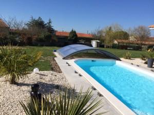 Notre piscine Excel 4x8m Concerto au Sud de Nantes ...